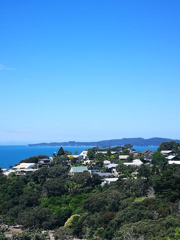 View from room to Kawau Island