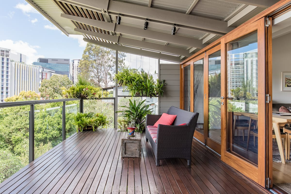 Beautiful, Unique City Retreat in Cultural Hub of Brisbane