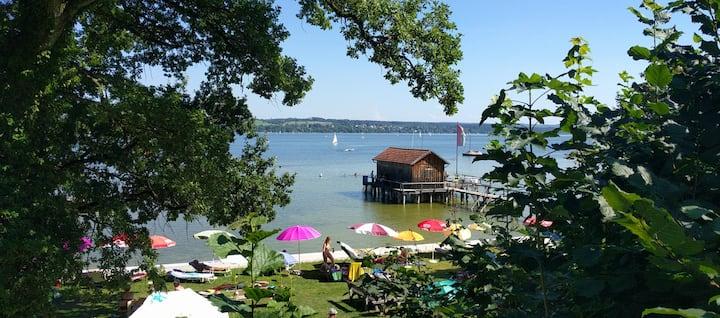 Haus Ammerseeblick - wenige Schritte zum See