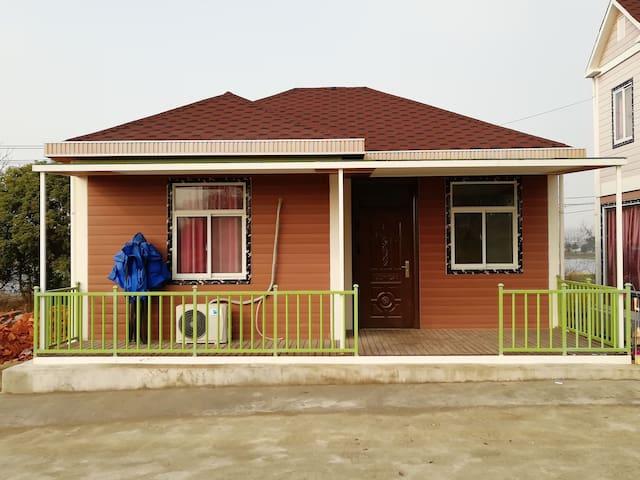 禄口机场永乐生态园独栋大木屋