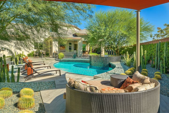 Model Home Perfection with Resort Style Yard