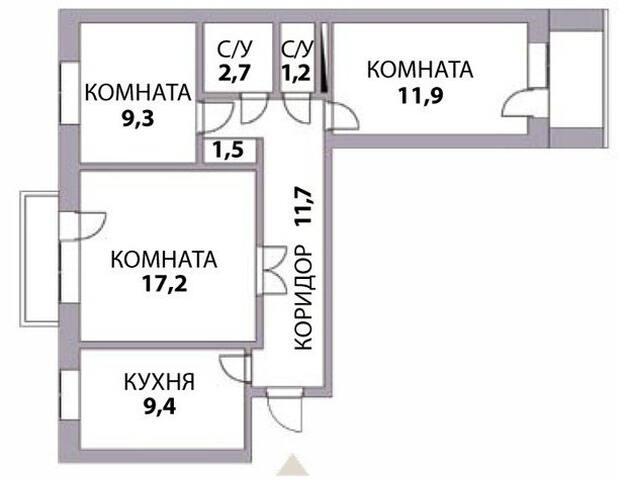 3-х комнатная квартира в Киеве на финал ЛЧ