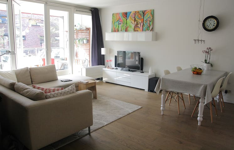Apartment in peaceful part city centre - Haarlem