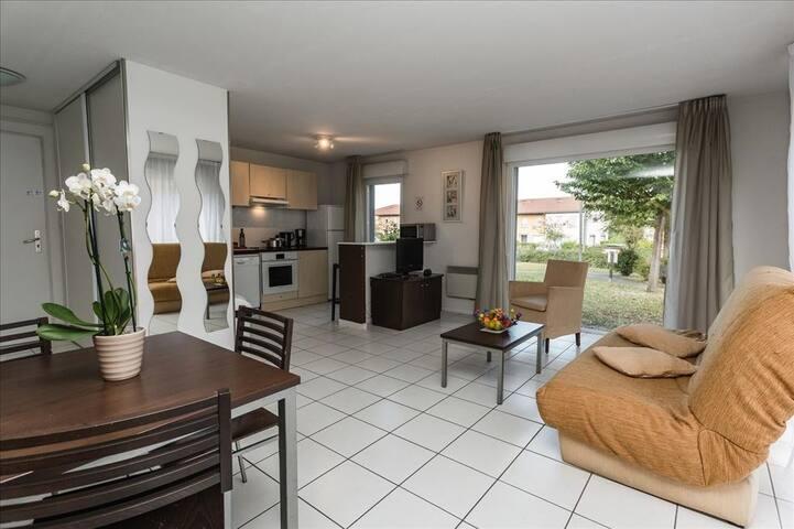 Garden&City-Appartement 3 chambres et 1 clic-clac