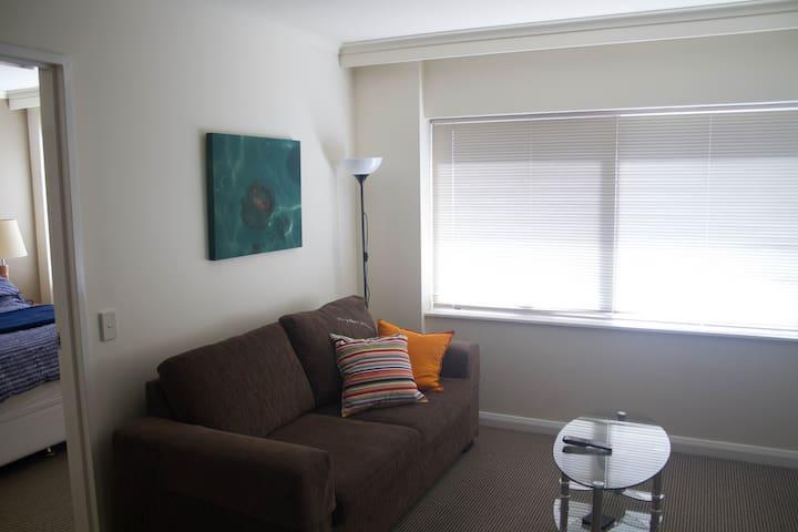 Simple yet cozy living room