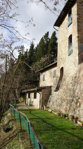 Toscana Torre dei Conti, vicino San Gimignano - IT - Castle