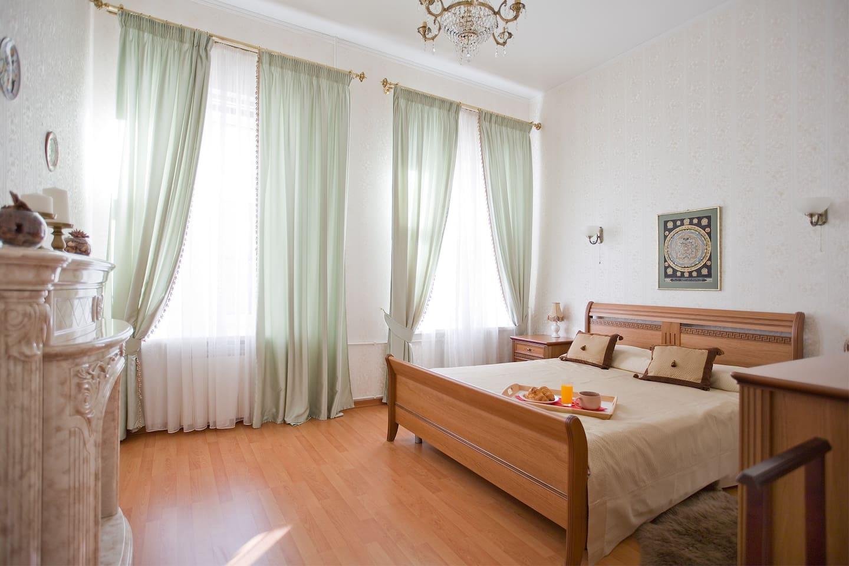 Первая спальня / Main bedroom