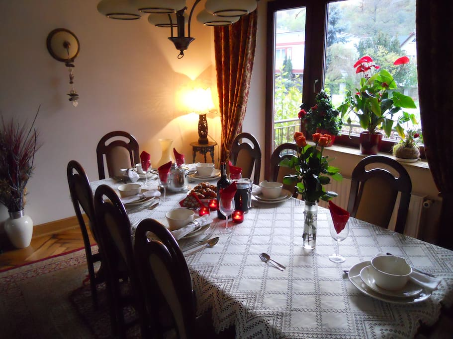 Salon stół jadalny