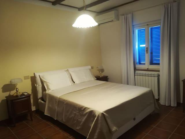 Slaapkamer in appartement