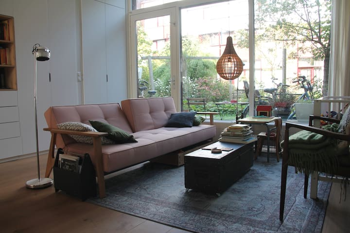 Lovely watefront family home close to the centre - Amsterdam - Haus