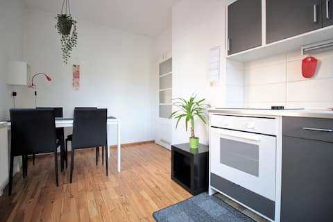 Charming 3-room apartment with parking space