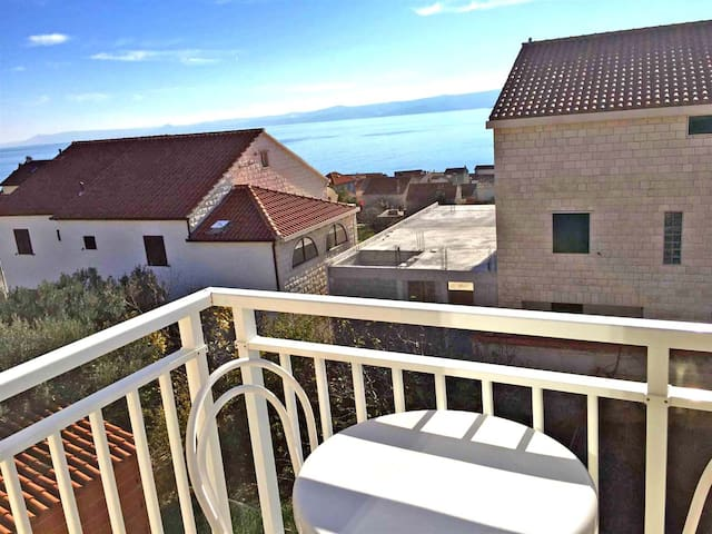 Two bedroom two terrace sea-view apartment - Bol - Apartamento