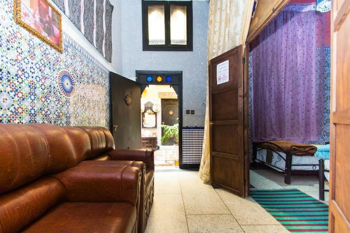 Chambre khadija in Dar Berrada guest house