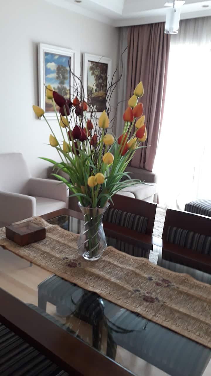 Apartamento Completo Confortável para sua  Estadia
