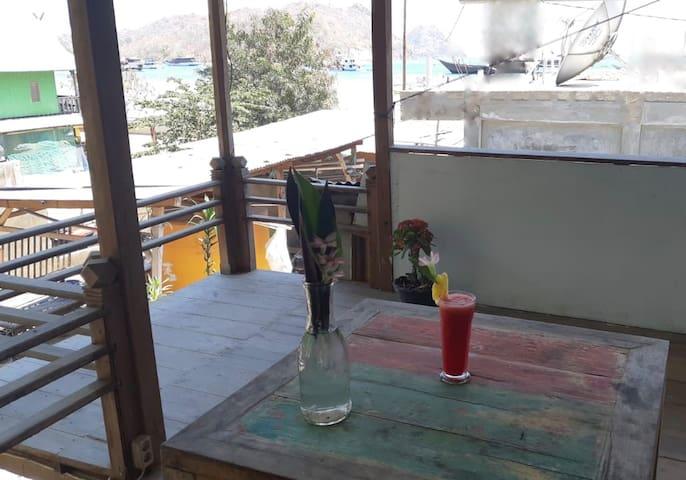 Balcony Private Room
