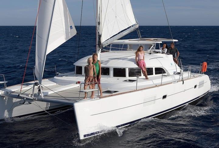 Ibiza-Formentera cruise catamaran