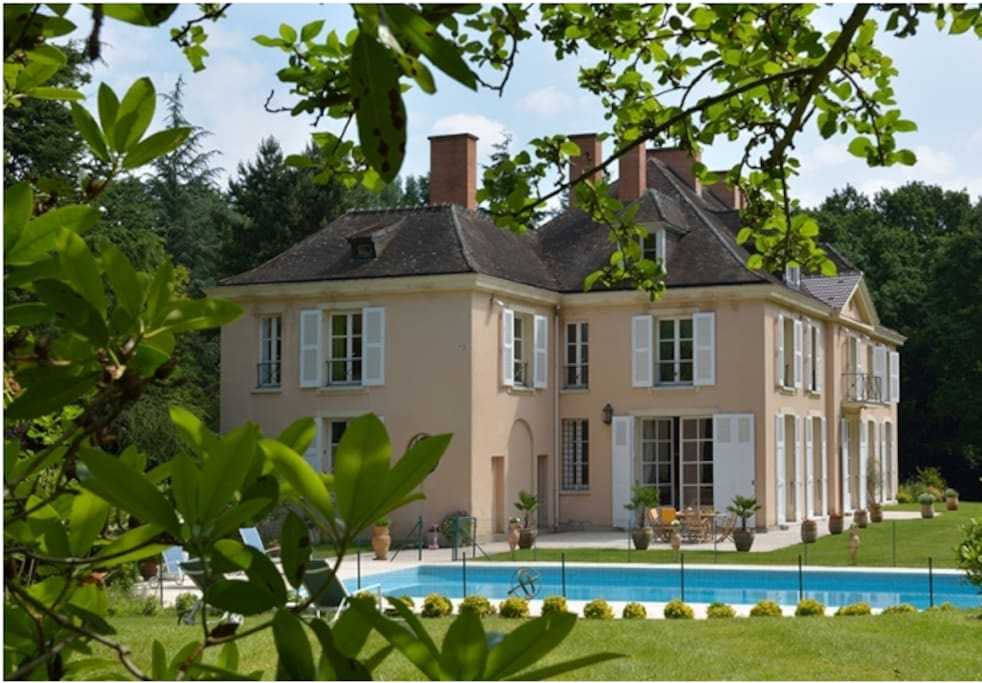 ch teau near paris case in affitto a yvelines le de france francia. Black Bedroom Furniture Sets. Home Design Ideas