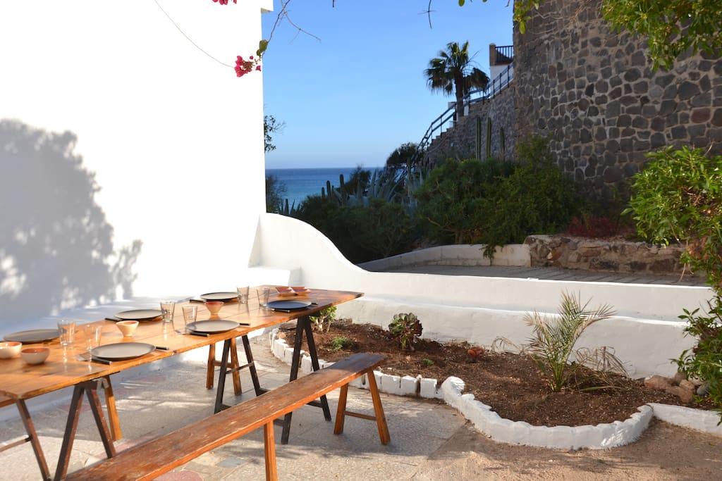 Casa CORBEL - acceso directo Playa