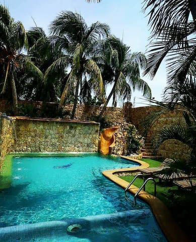 Casa La iguana verde