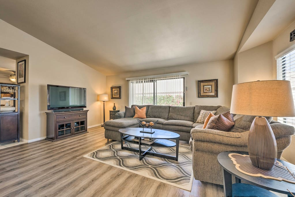 You'll feel right at home inside 1,500 square feet of living space.