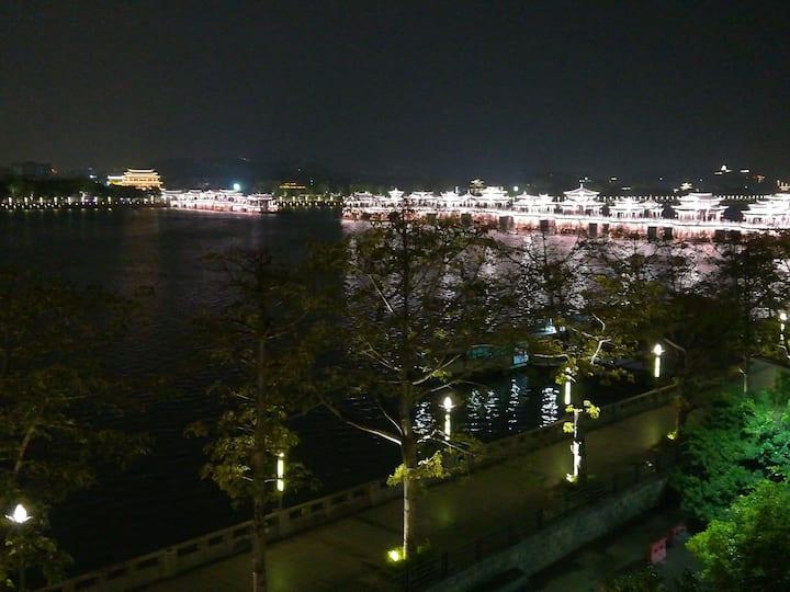 【潮州古城】一线江景房