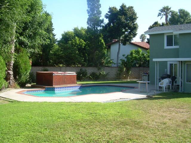 Enjoy the Landscaped Backyard