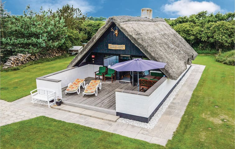 Holiday cottage with 2 bedrooms on 60m² in Ringkøbing