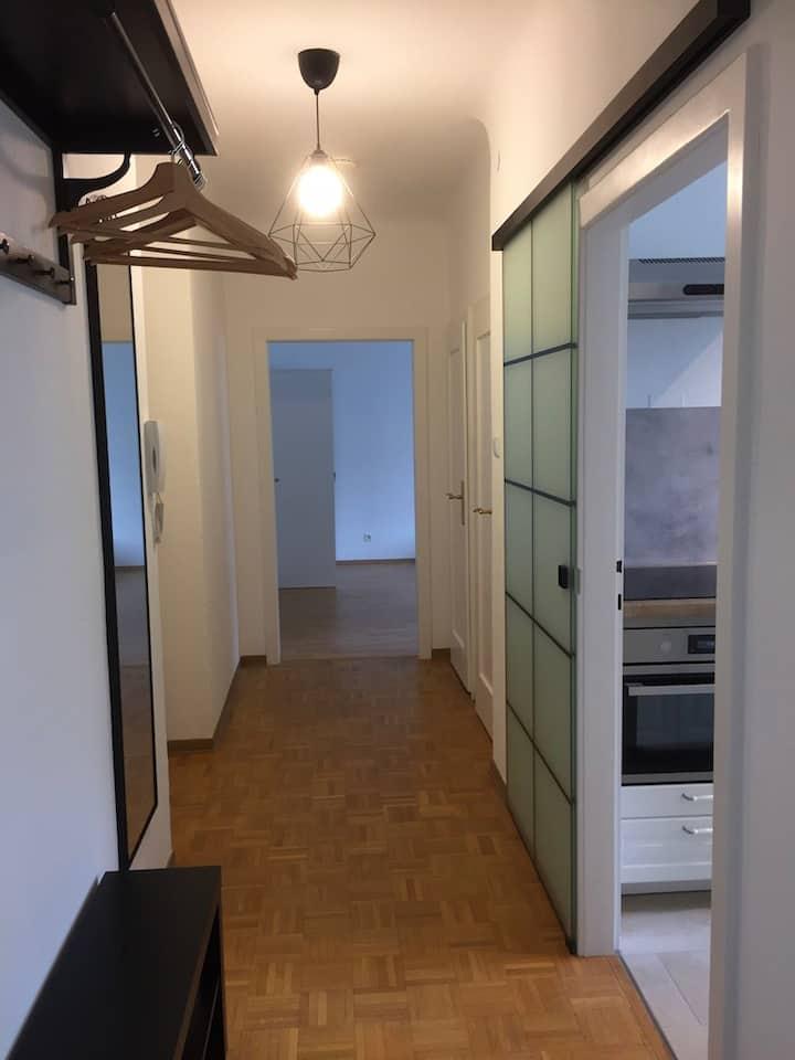 zentrale renovierte sonnige Wohnung