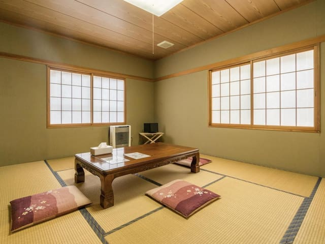 Enjoy The Starry Night ! A Japanese style room with hot spring bath in Nagano