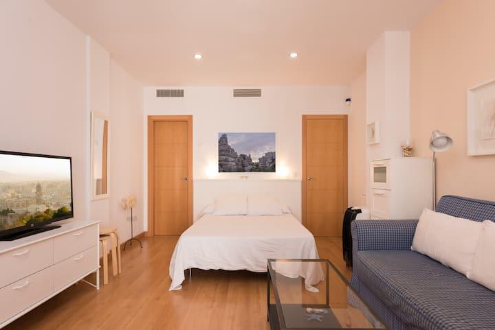 Unos dias en Malaga AT Bonito y moderno loft 1ºC