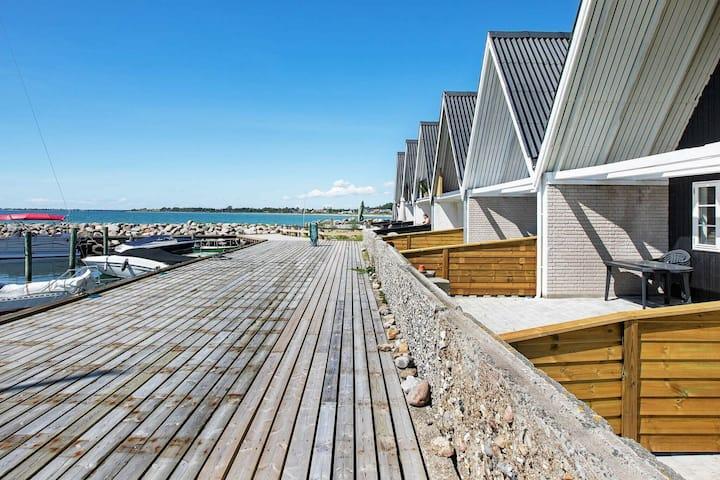 Acogedora casa de vacaciones en la playa de Zealand
