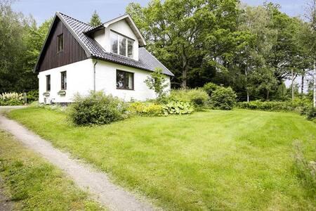 Eget hus mitt i skogen