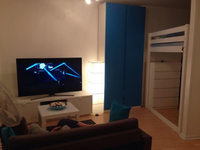 Living Room + TV