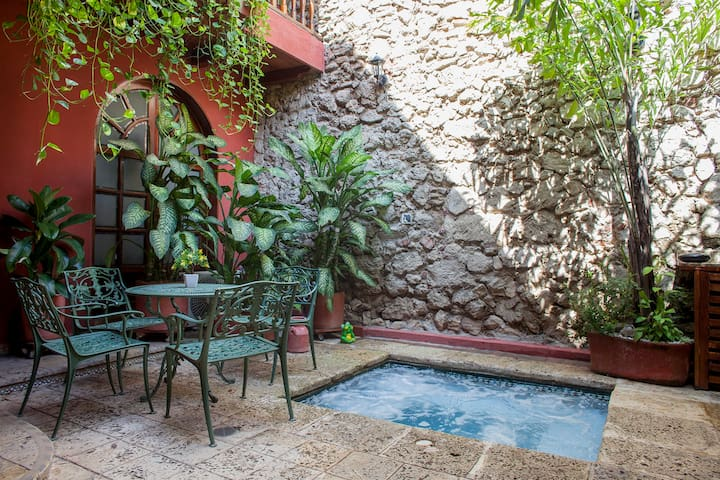 Incredible Colonial House 4 bedroom house old city - Cartagena - House