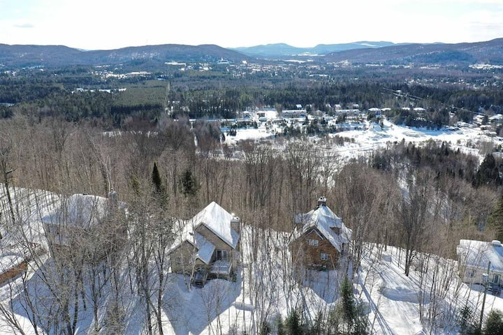 2 beds cozy home In Mont-Tremblant *mountain view