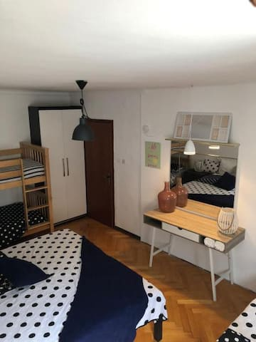 Rooms Olive in Izola - Family Room