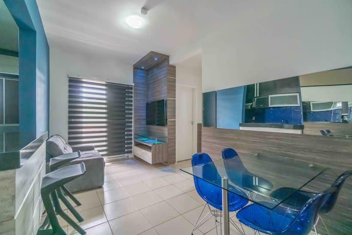 Apartamento com estilo, moderno, completo.