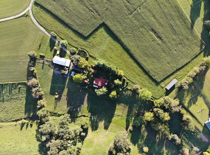 Magnificent acres farm, a jewel in the ecotourism
