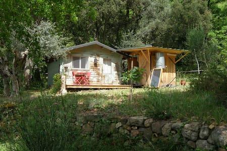 Wooden lodge in the forest - Bagnols-en-Forêt