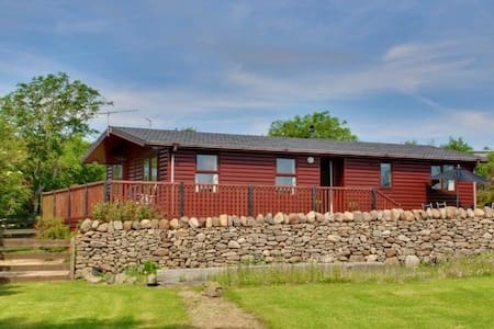 Rowan Lodge - Drumla Farm Holiday Cottages - Kildonan - 小木屋