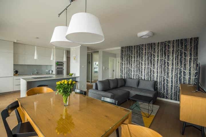 Easy Apartments Kielce - nowoczesny apartament 75m