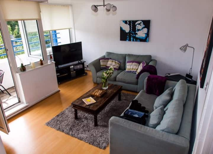 Spacious 2 Bedroom Flat in Trendy Hackney