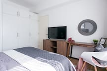 with bedroom television and access to wifi