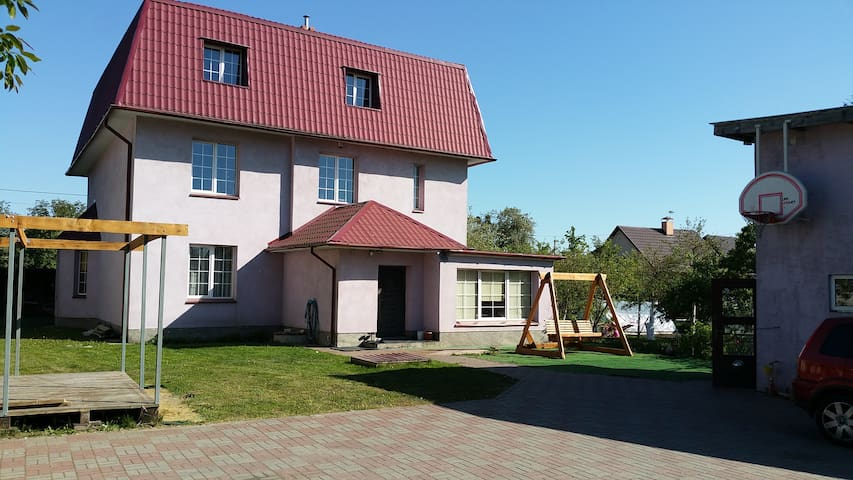 House  in a quiet area of Koenigsberg.