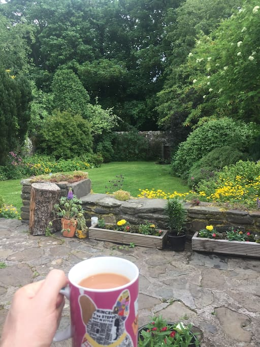 Relax with a cuppa and feel at peace
