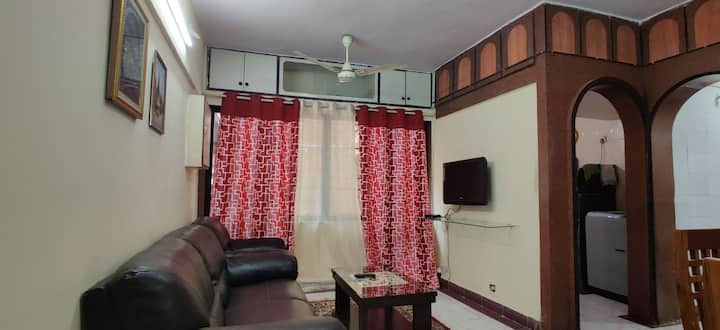 Relaxing and soothing Two Bhk apartment