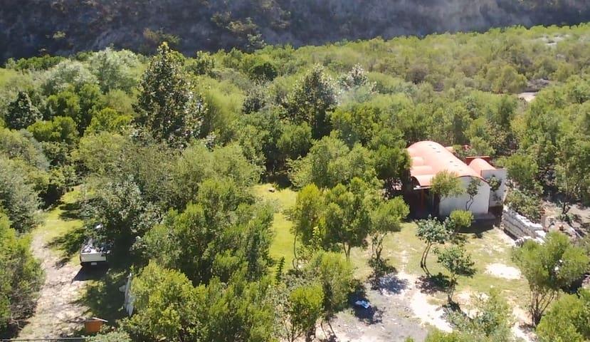 Potrero Chico cottage for climbers.