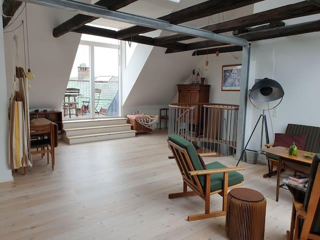 Penthouse in Nørrebro