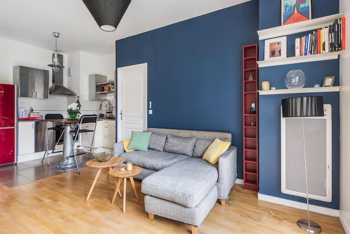 Bel appartement avec jardin aux portes de Paris - Montrouge - Wohnung