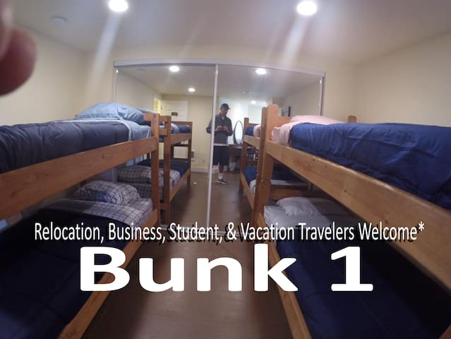 Traveler's Hub: Reflection Way/BUNK 1 (Bottom)